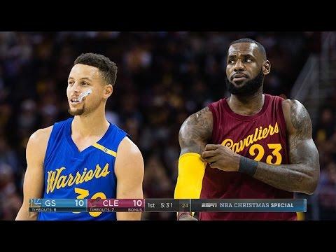 Cavaliers vs Warriors 2017 Full Highlights 2017 NBA Season! LEBRON VS DURANT! NBA 2K17