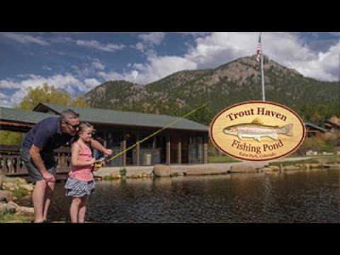 Trout Haven Fishing Pond, Estes Park CO