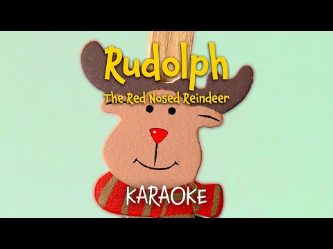 Rudolph the Red-Nosed Reindeer | Free Christmas Carols (lyrics video for karaoke)