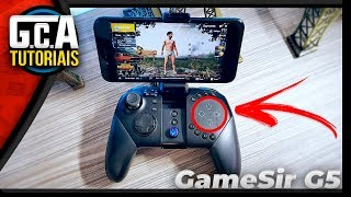 Came!! Best control for PUBG Mobile/Free Fire and Fortnite-GameSir G5 Unboxing PT-Br