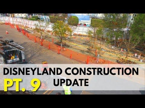 Disneyland Construction update - Small world, Splash and Pixar Pier | 03/31/18 pt 9
