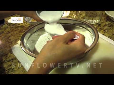 cách làm bánh nếp nhân dừa - Sunflowertv.net