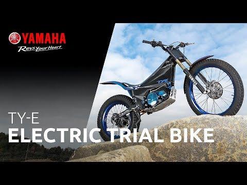 yamaha ty e trial bike concept youtube. Black Bedroom Furniture Sets. Home Design Ideas