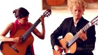 Möller-Fraticelli Guitar Duo plays Milonga Argentina by Justo Tomás Morales