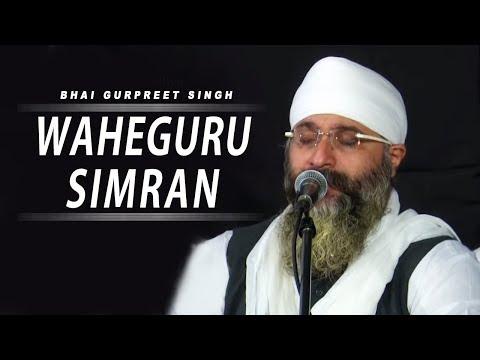 WaheGuru Simran | Bhai Gurpreet Singh (Rinku Vir Ji Bombay Wale)19th Oct,2015