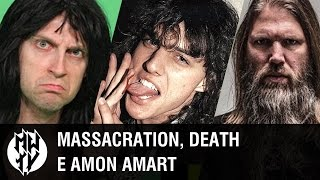 MWTV #005 - Massacration,  Death e Amon Amarth