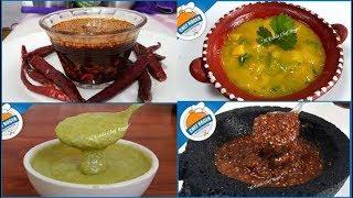 Top 5 salsas mas sabrosas