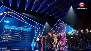 Результаты зрительского голосования. Евровидение-2017. Первый полуфинал