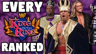 Every WWE King Of The Ring PPV Ranked From WORST To BEST