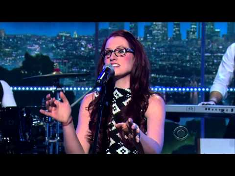 Ingrid Michaelson on The Late Late Show