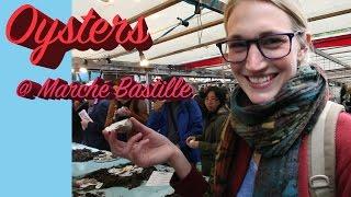 Video Oysters for Breakfast at Marché Bastille : Paris Vlog #3 download MP3, 3GP, MP4, WEBM, AVI, FLV November 2017