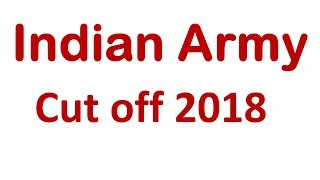 Join Indian Army   Cutoff    www.joinindianarmy.nic.in    Employments Point