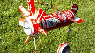 Coke Can Plane - Whirligig