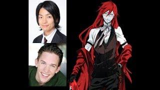Anime Voice Comparison- Grell Sutcliff (Black Butler)