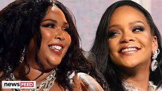 Rihanna Is Down To COLLABORATE With Lizzo!