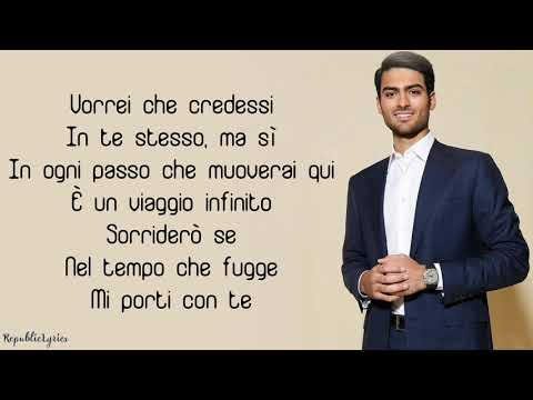 Andrea Bocelli  Fall On Me Lyrics feat Matteo Bocelli
