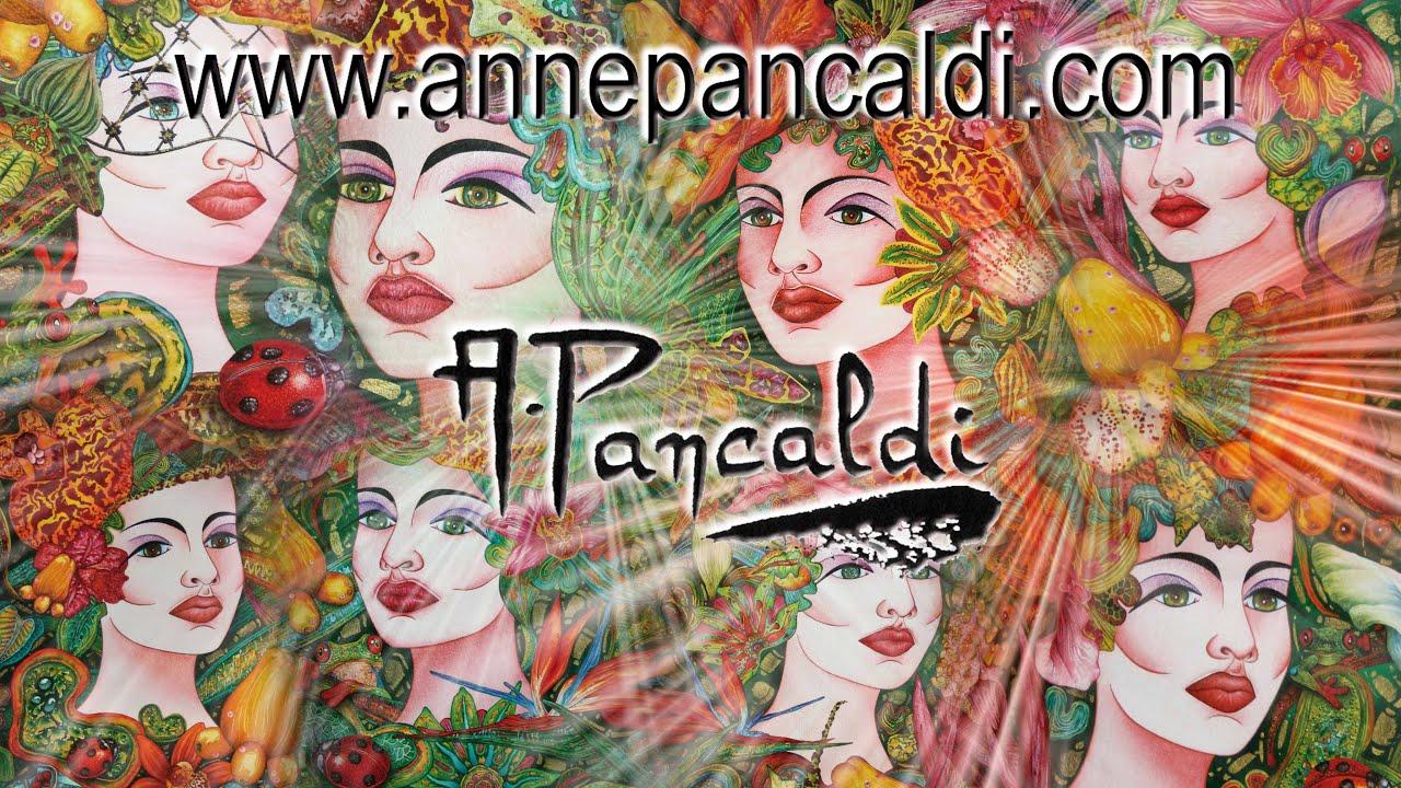 Peintre Contemporain Célèbre Vivant anne pancaldi - artiste peintre - artiste graphiste - web