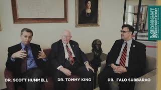 Midnight on Front Street: Dr. Hummel, Dr. King & Dr. Subbarao