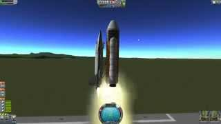 Kerbal Space Program - Building A Shuttle Clone In 30 Minutes