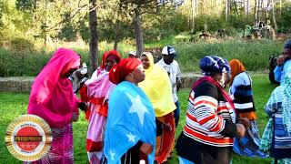 Somali Bantu Community of Buffalo  Farm Harvesting party