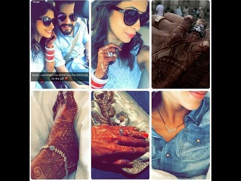 Kishwer Merchant, Suyyash Rai Post-Wedding First Pics || #Sukishkishaadi || [Full | HD]