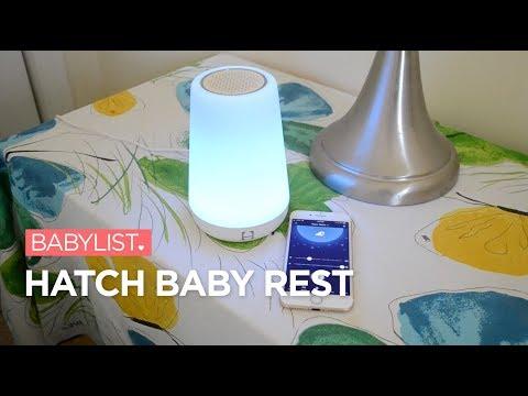 Hatch Baby Rest Nightlight and Sound Machine