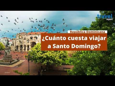 ¿Cuánto cuesta ir a Santo Domingo?