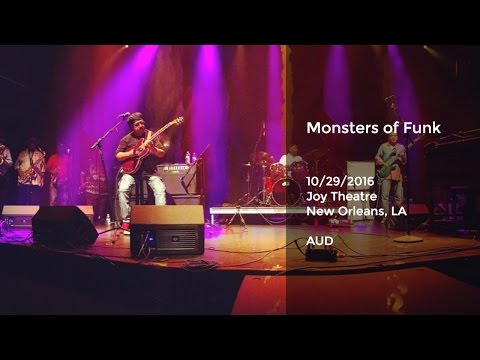 Monsters of Funk w/ Dirty Dozen Brass Band Horns Live at Joy Theatre, New Orleans - 10/29/2016 Full