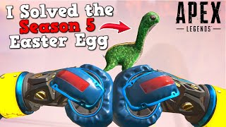 This has NEVER been done before in Apex Legends! (Season 5 Loch Ness Easter Egg)