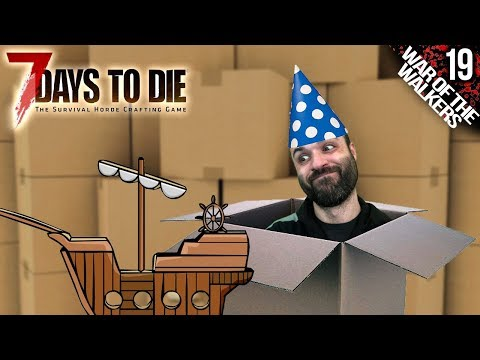 7 DAYS TO DIE M19 | FIESTA DE LOOT | Gameplay Español