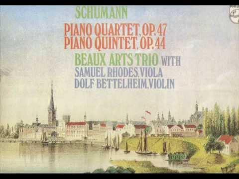 Schumann. Piano Quintet Op. 44. Beaux Arts Trio.