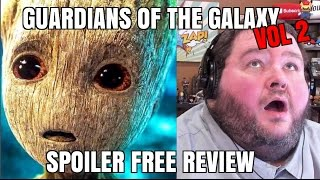 FIRST HALF SPOILER FREE! GUARDIANS OF THE GALAXY VOLUME 2 REVIEW