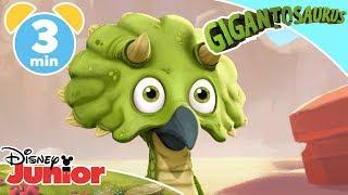 Gigantosaurus | Rocky's Roar 🎤 | Disney Junior UK