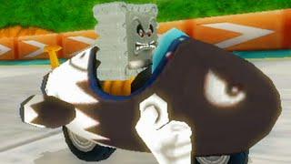 Mario Kart Wii - 150cc Thwomp Cup Grand Prix (Thwomp Gameplay)