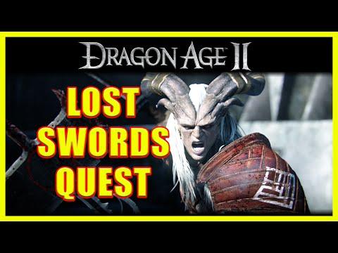 Dragon Age II - Lost Swords Quest - Qunari Swords - 4K Ultra HD  