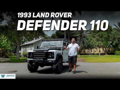 1993 Land Rover Defender 110 Walkaround | For Sale