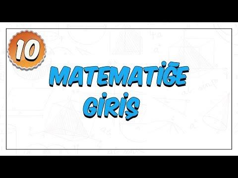 10.Sınıf | Matematiğe Giriş (Sayma ve Olasılık)