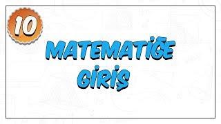 10.Sınıf Matematik  Matematiğe Giriş (Sayma ve Olasılık)