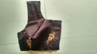 Blouse front part cutting and stitching/ బ్లౌజ్ front dots ni perfect గా ఎలా కుట్టాలో చూడండి.