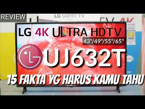 REVIEW LG 4K UJ632T LED SMART TV ULTRA HD indonesia HD