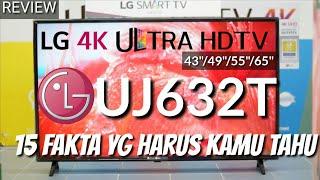 REVIEW LG 4K UJ632T LED SMART TV ULTRA HD indonesia HD