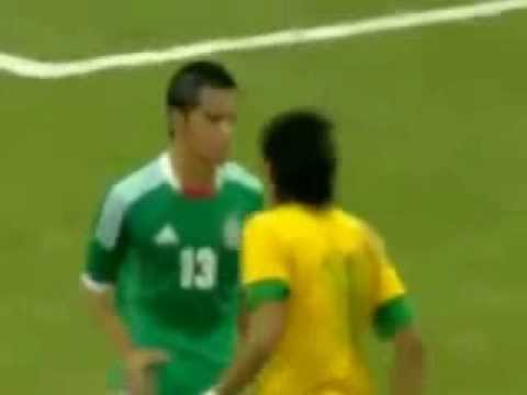 NEYMAR IS SLAPPED AND PUNCHED Brazil 0 2 Mexico Friendly Match HD !спорт