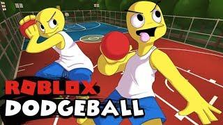 DODGEBALL EN ROBLOX !