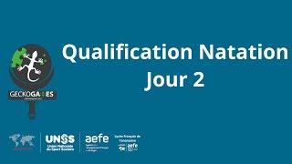 Qualification des Nageurs Jour 2