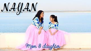Nayan   Dhvani Bhanushali   Simple wedding dance   Nivi and Ishanvi   Mom daughter dance   Laasya Thumb