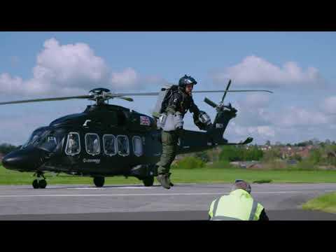 Gravity Industries visits Leonardo Helicopters in Yeovil
