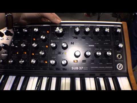 2014 Winter NAMM Show - Moog Sub 37 Analog Synth