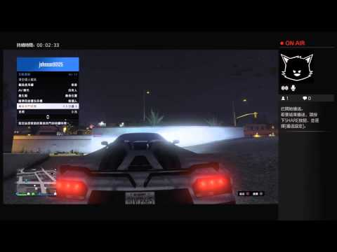 「Fat Cat」PS4遊戲-「GTA Online」-『測試新HDMI線』!