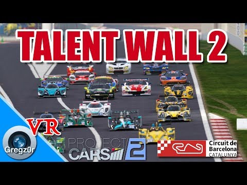 [VR] 🇪🇸 'Talent Wall' 2. LMP2 Action at Barcelona.