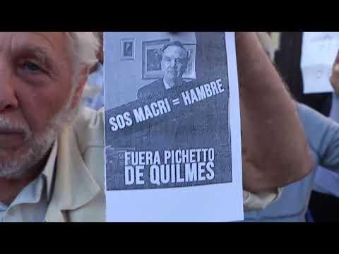 Escracharon a Pichetto en Quilmes